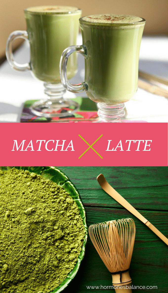 matcha tea, latte, caffeine, coffee substitute, adrenals, japanese, anti-candida, estrogen dominance, menopause, PCOS, teas, drinks, tonics, thyroid