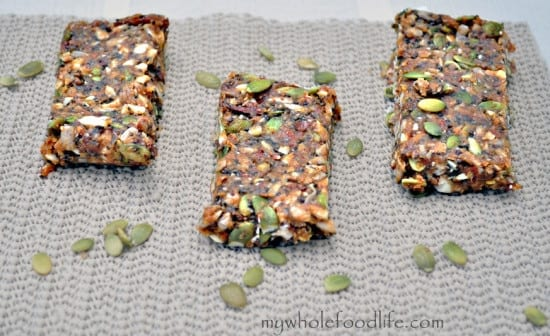 Maca Energy Bars from MyWholeFoodLife.com