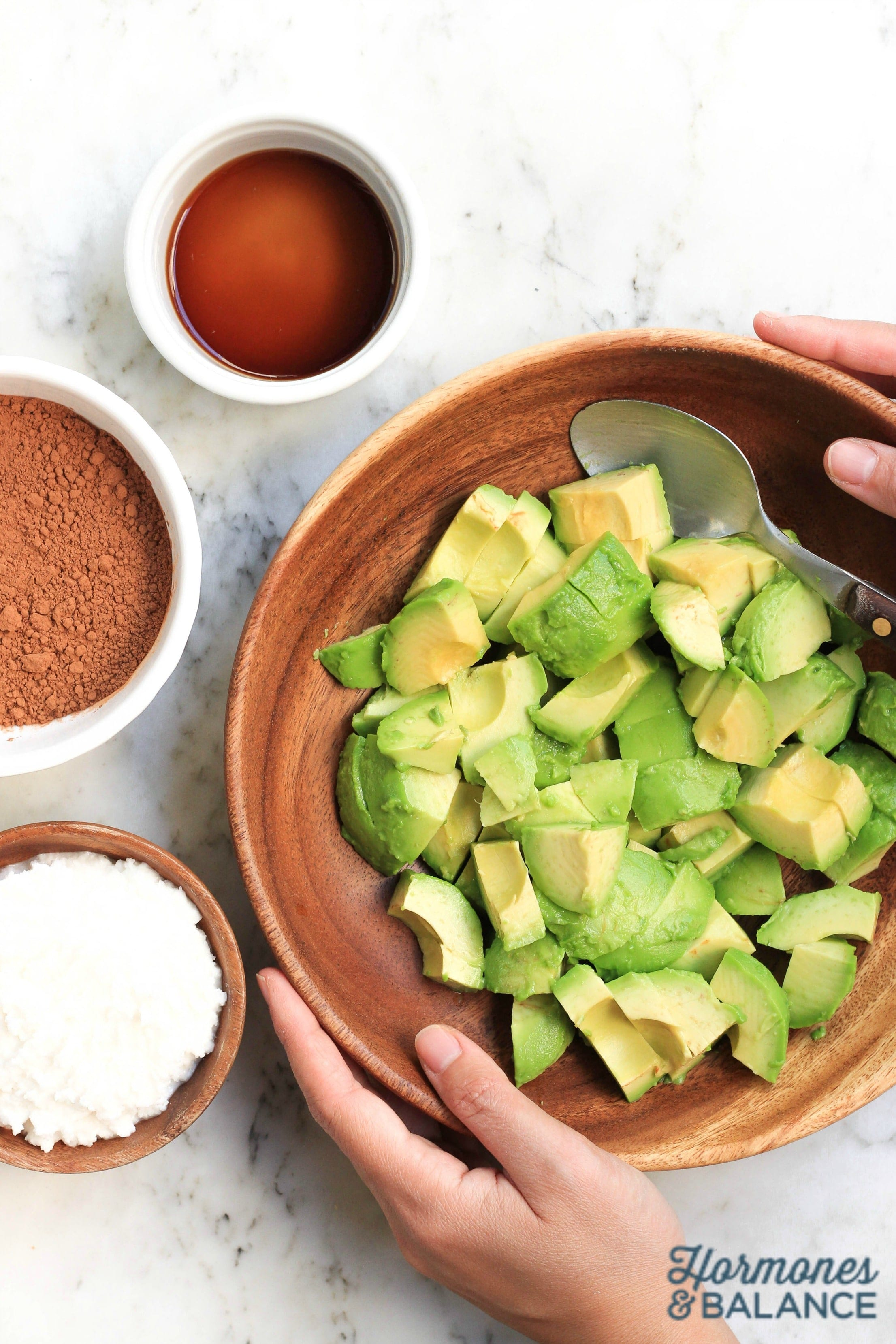 Chocolate Avocado Pudding Recipe Ingredients