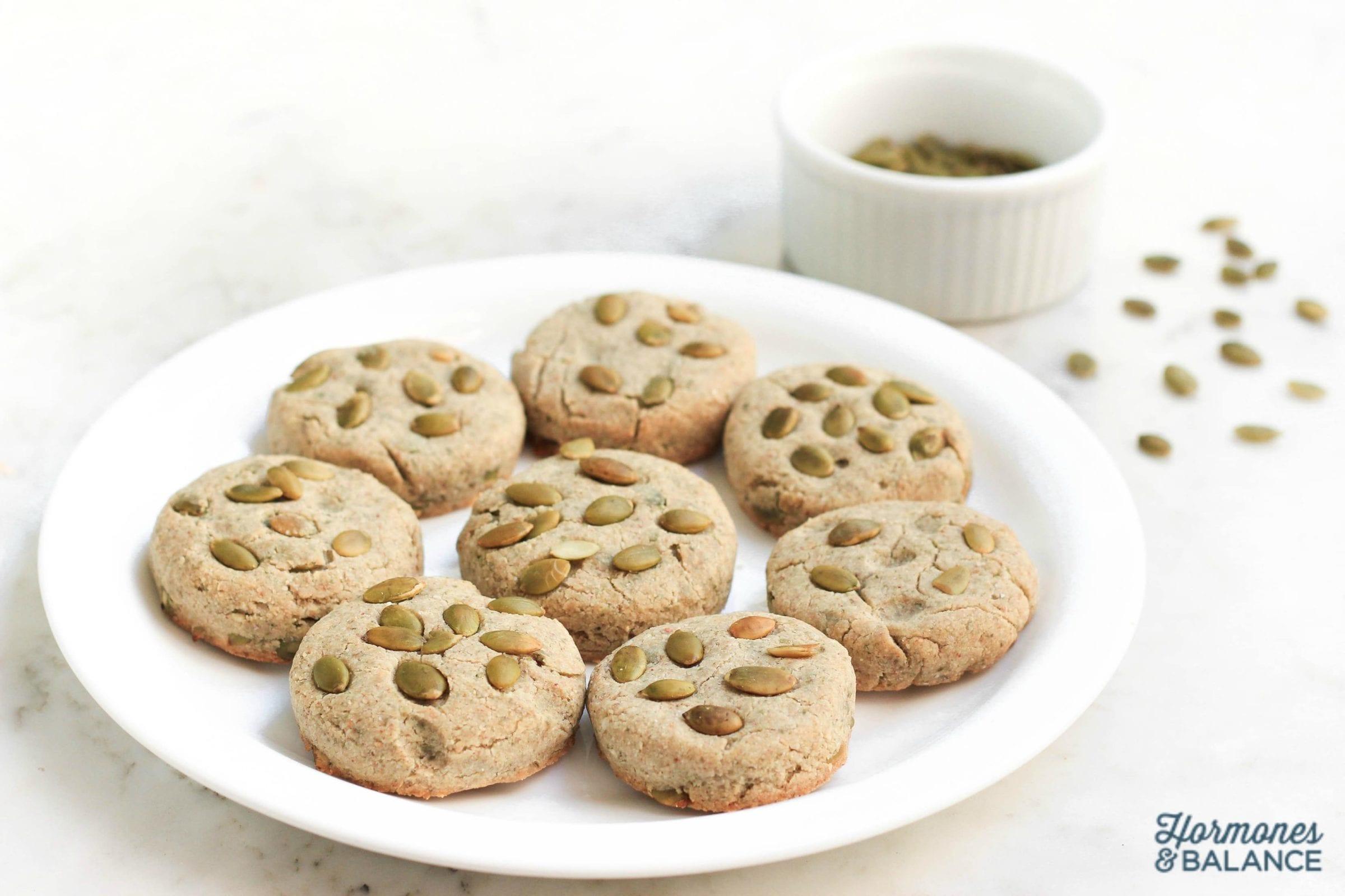 Pumpkin Seed Buckwheat Biscuits