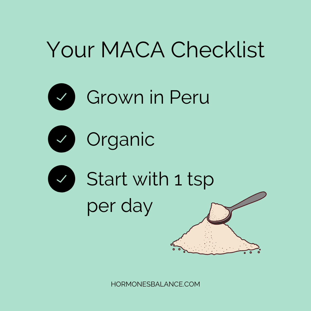 Interested in giving maca a try? Then keep this checklist in mind when choosing your supplement.