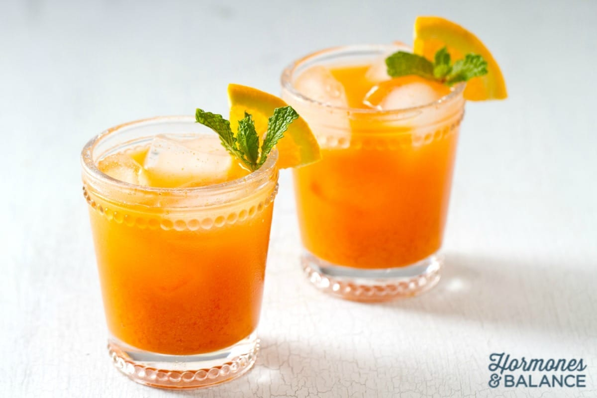 Orange and Turmeric Fizzy Probiotic Soda