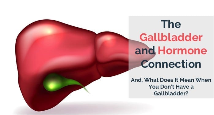 The Gallbladder and Hormone Balance Connection  And, What