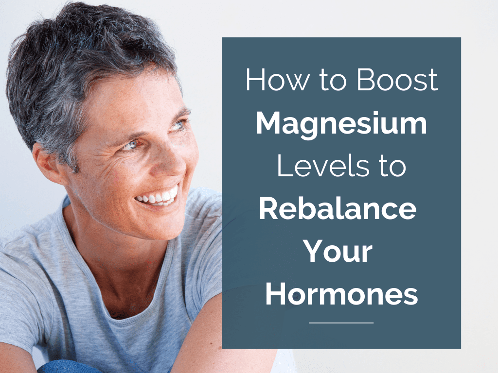 If you're a busy modern woman, chances are you're deficient in magnesium and don't even know it. This multi-tasking mineral is needed for your body to complete around 300 enzyme responses. Many of these responses impact your natural hormone balance.