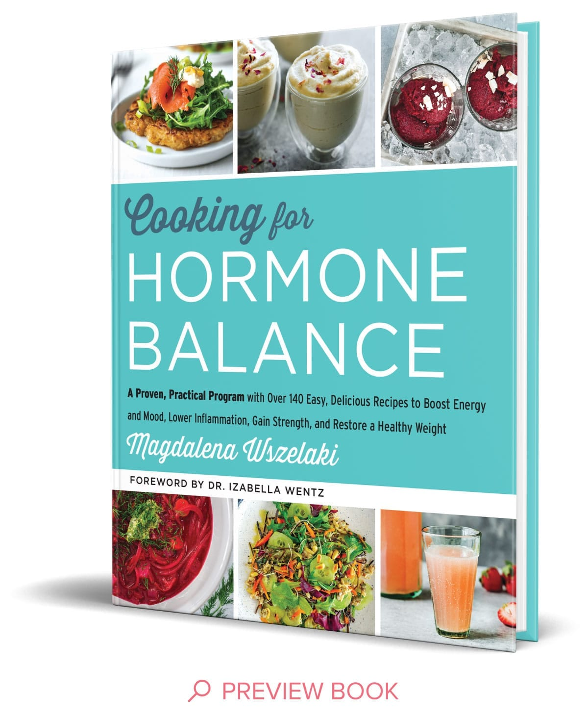 Cooking For Hormone Balance Book Cover