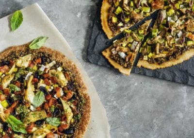 Grain-Free Pizza - Two Ways