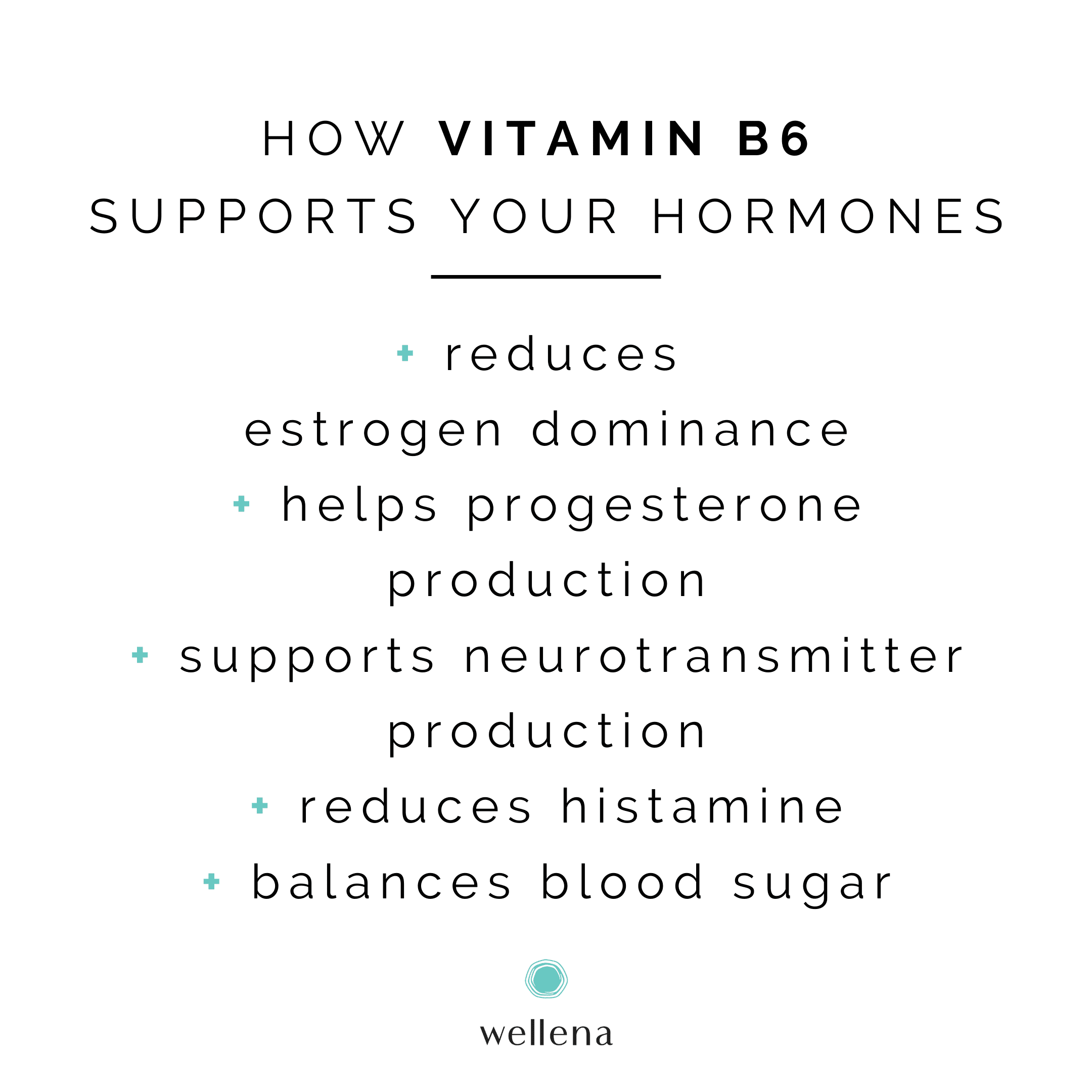 What Are the Benefits of B6 for Hormones?