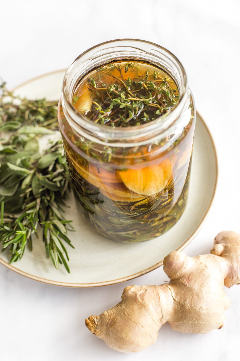 With fresh, potent botanicals and healing honey, this herbal honey infusion does your body and hormones good. What I love most about this infusion is that it need not be an exact science. You can have fun experimenting with different ingredients and ratios.