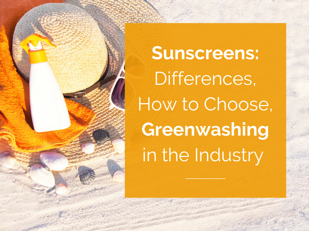 How to choose a safe sunscreen.