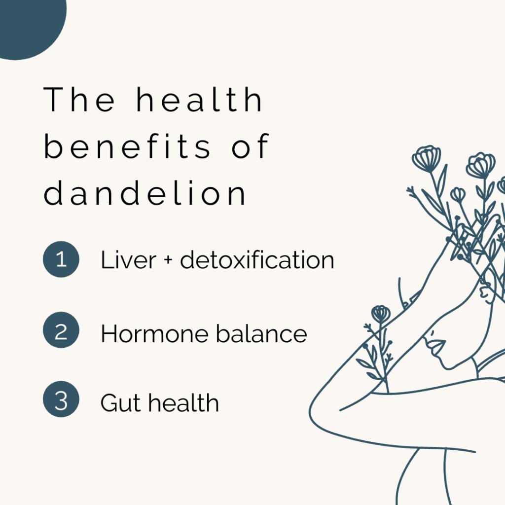The health benefits of dandelion